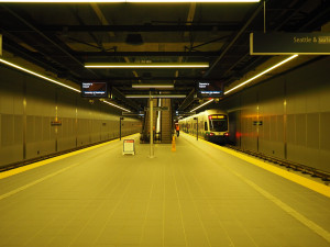 link light rail station yellow